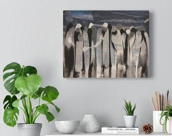 Comfort of Community - Canvas Print
