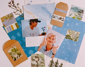 BTS Hyung Line Stationery Sets  Aesthetic, Journal, Penpal