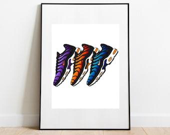 Nike tn poster | Etsy