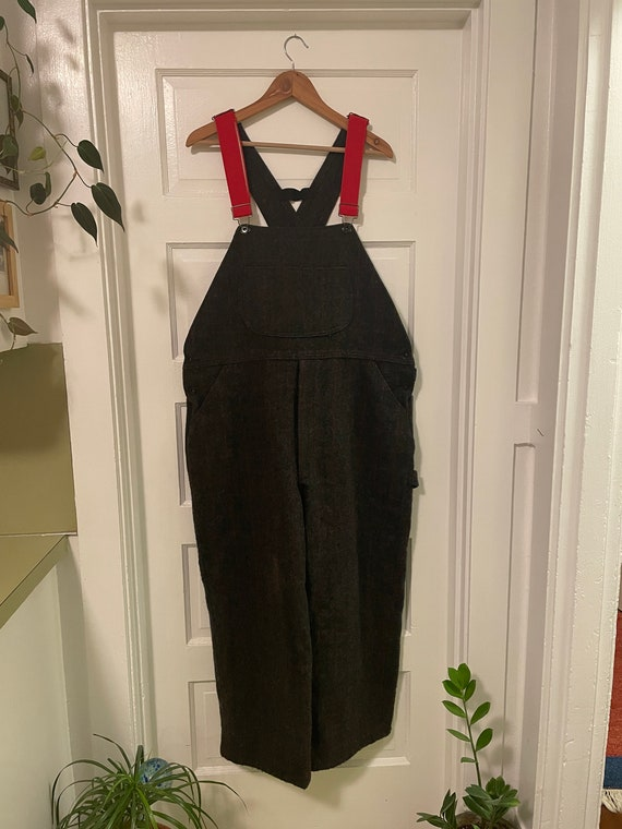 """Vintage Woolrich """"Malone"""" Wool Overalls"""