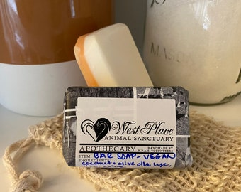 Vegan Unscented Bar Soap