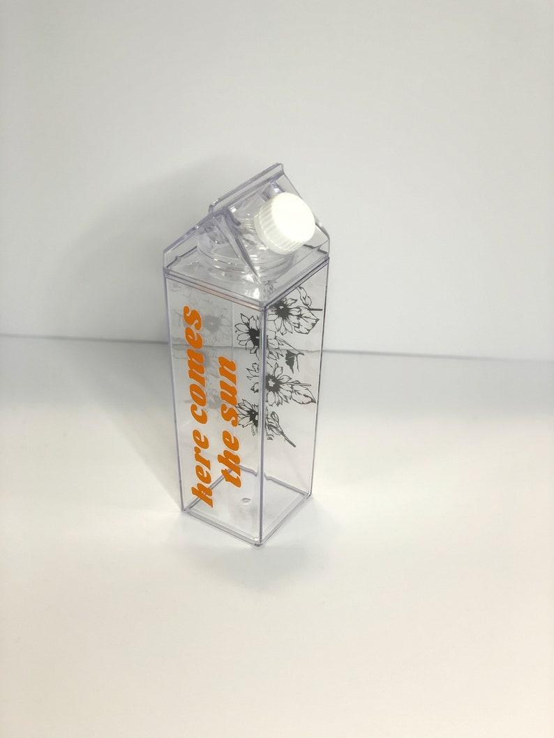 Custom Acrylic Milk Carton