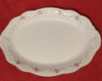 Bread and Butter Plate Antique China circa 1914 Dresden by W H Grindley /& Co
