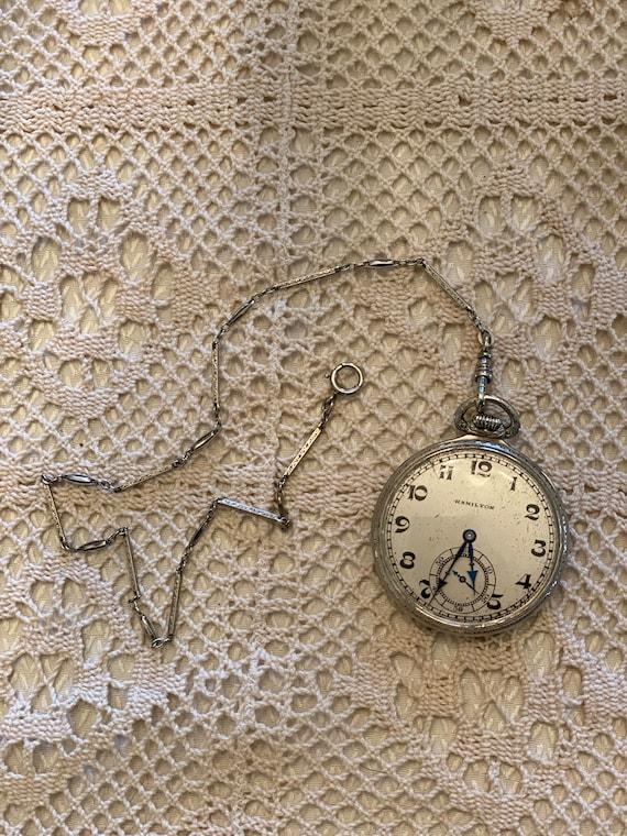 Hamilton pocket watch