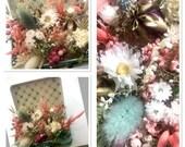 """Flower arrangement """"Flower meadow in suitcase"""""""