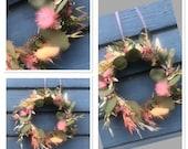 Spring wreath pink dream