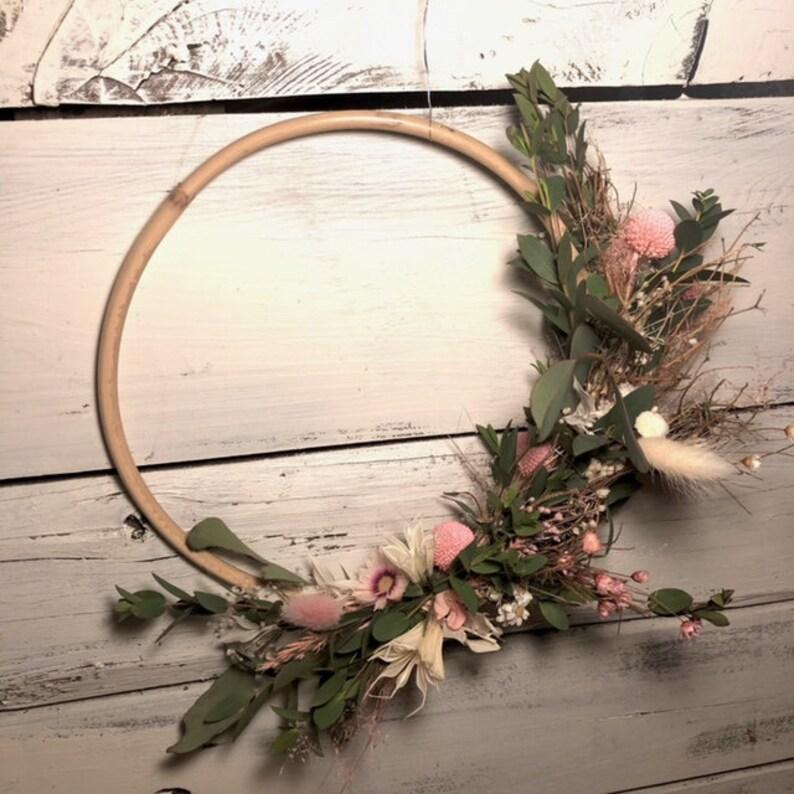 Flower wreath Bohostyle image 0