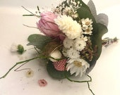 2 mini bouquets dried as a small gift for a special day