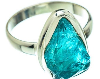Details about  /Natural Round Neon Apatite Gemstone 925 Solid Silver Adjustable Chain Bracelet