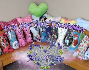Assorted Neck Pillows Listing