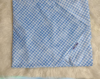 """Minky Smooth Garden Gingham Swaddle 30""""×36"""""""