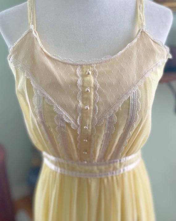 Yellow Gunne Sax Dress - image 1