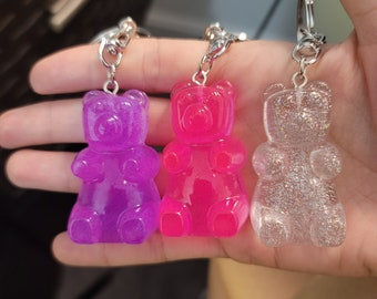 Cherry Blossom Gummy Bear Keychain F