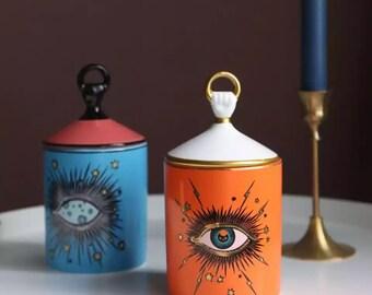 Candle holder, candle stick holder, Halloween decor,gold candle holder, ceramic candle holder, Halloween candle holder, candle decoration