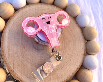 OBGYN at your cervix badge reel OBGYN badge reel