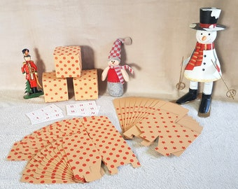 Advent Calendar - Small Numbered Boxes