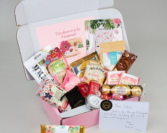 Hug In A Box - Self care gift - ladies care package, Pamper Gift Boxes, Thinking of You, Hug in a Box, Celebration Gift, Grief care package