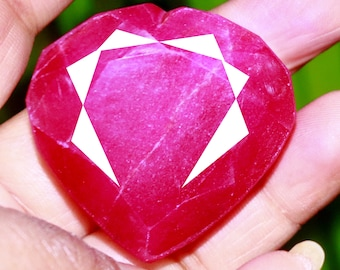 Natural African Red Ruby in Sterling Silver Gorgeous 1.66 ct