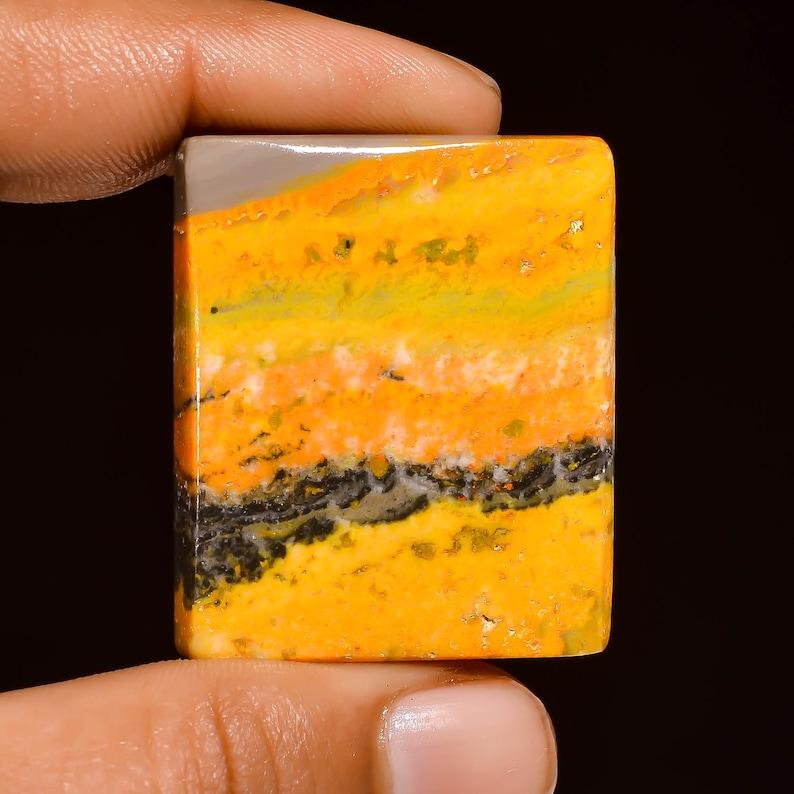 Bumble Bee Jasper Loose Gemstone,68.00 Ct Natural Bumble Bee Jasper Gemstone,Top Quality Gemstone,For Making Jewelry Beautiful !!
