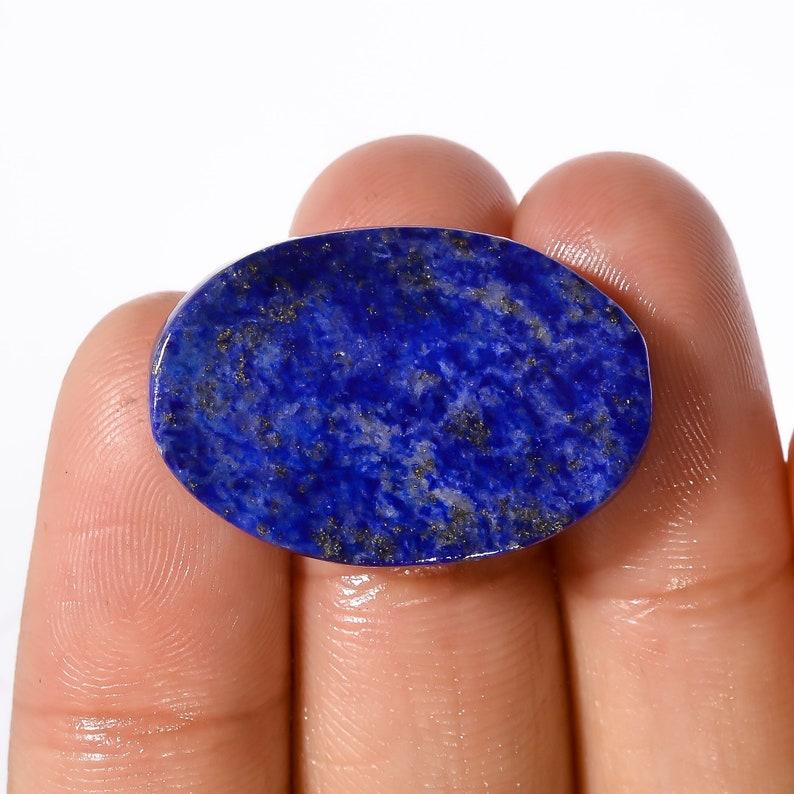 Fabulous Lapis Lazuli Oval Shape Cabochon Loose Gemstone,20.00 Ct Lapis Lazuli Loose Gemstone,Gem For Pendant,Flat Back Stone
