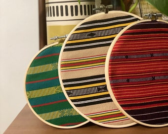 Authentic Philippine Inabel Wall Decor Small Set