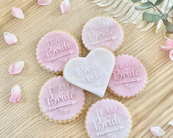 Cookies for hen party, biscuits JGA, favors