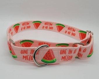 girl dog leash summer collar Melon Belon-girl dog collar melon dog leash pink dog leash pink dog collar fruity melon dog collar