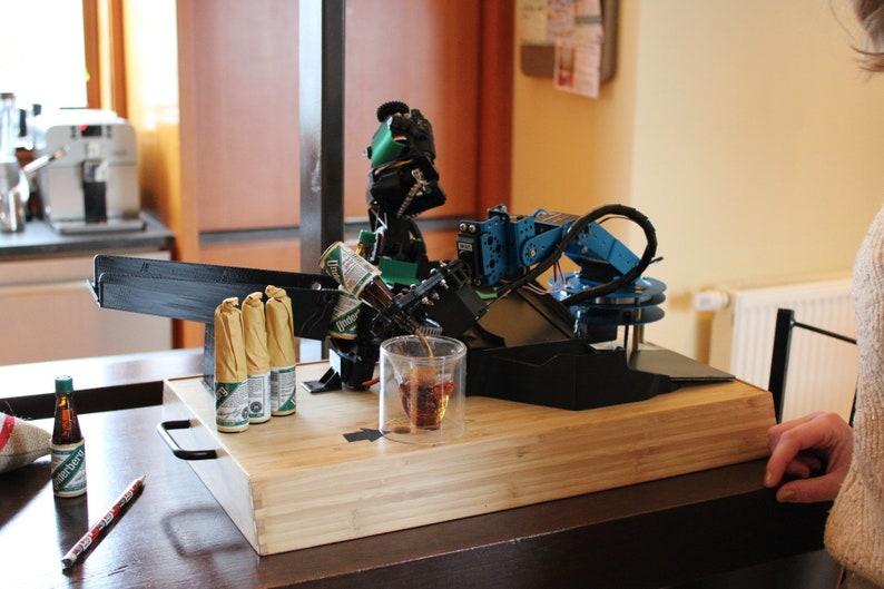 Desktop Bartender Robot image 0