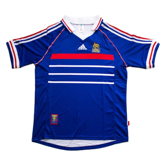 France International Home (1998) Retro Soccer Jers