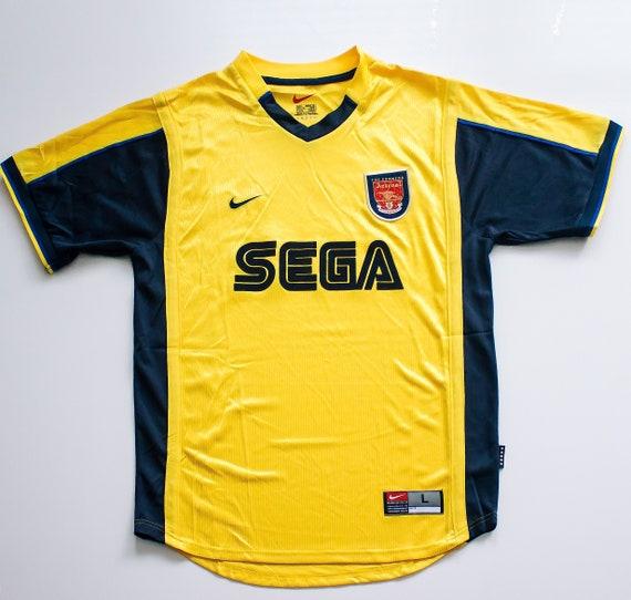 Arsenal Away Shirt (1999 - 2000) Retro Football J