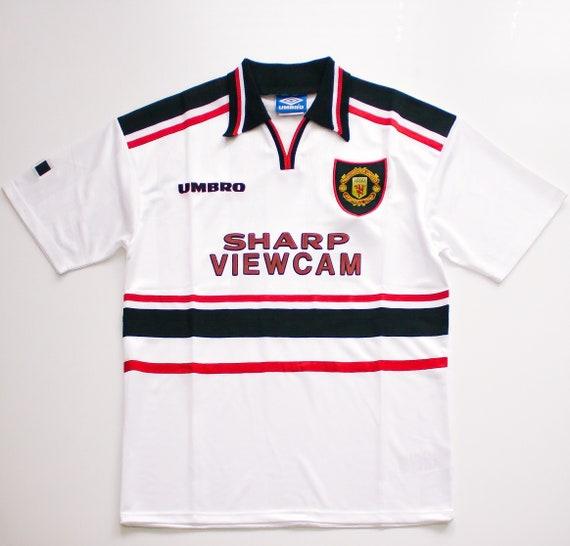 Manchester United Away Shirt (1996-98) Retro Footb