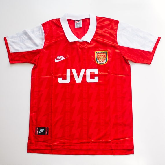 Arsenal (1995 – 1996) Home Retro Soccer Jersey - M