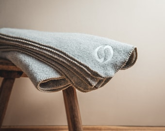 Alpaca/Merino Blanket