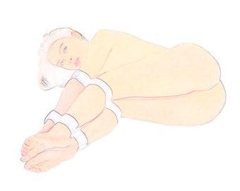 BDSM Double Leg and Arm Restraints - Fetish Bondage Gear