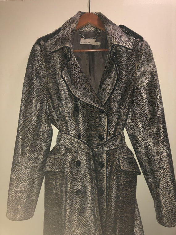Karen Millen Faux Fur Cheetah coat