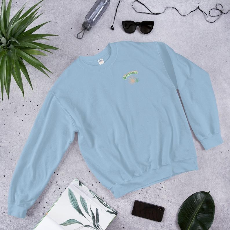 Blossom Crewneck Sweatshirt Women