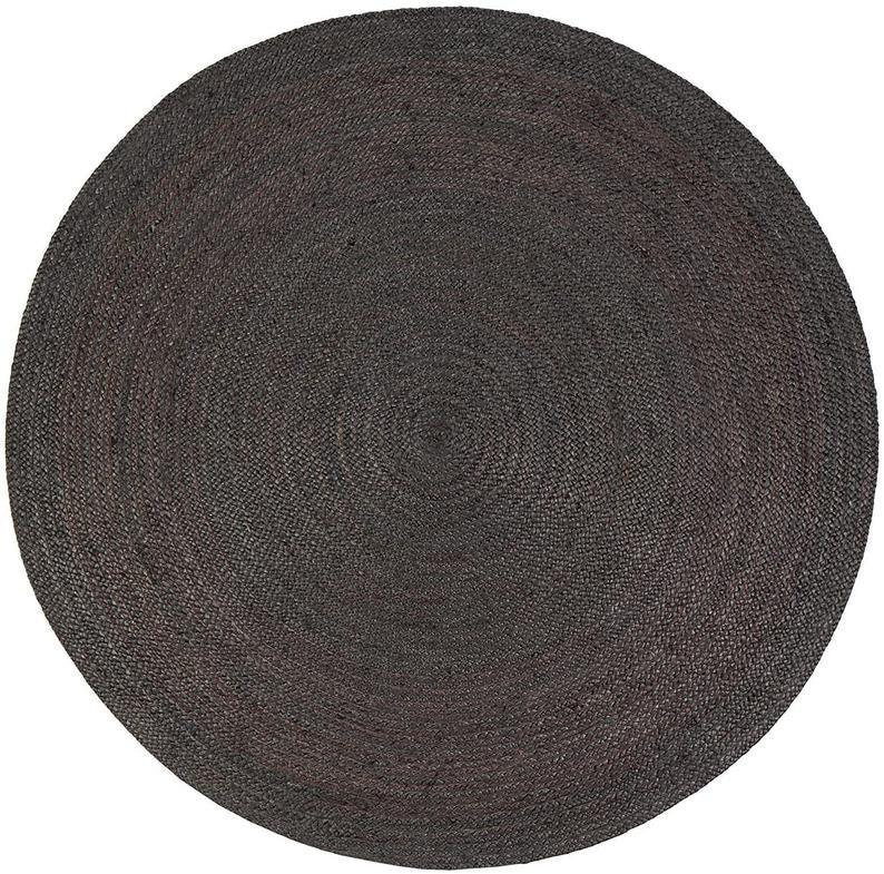 Round Table Rug in PalmHemp rugRugArea RugsFloor RugsLarge RugsHandmade RugCarpetround rugAntique Rug 4x4 8x8 Ft 5x5 6x6 7x7