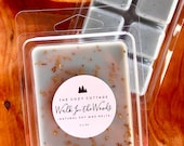 WALK IN the WOODS hand poured eco-friendly 100 soy wax melts - pine vanilla balsam peppermint wax warmer tarts - woodsy strong scented
