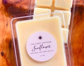 SUNFLOWER soy wax melts - floral wax tarts for warmer - natural candles - wax clamshell cubes - sunflower fragrance - house warming gifts