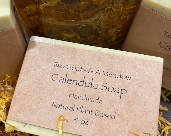 Handmade All Natural Calendula Soap