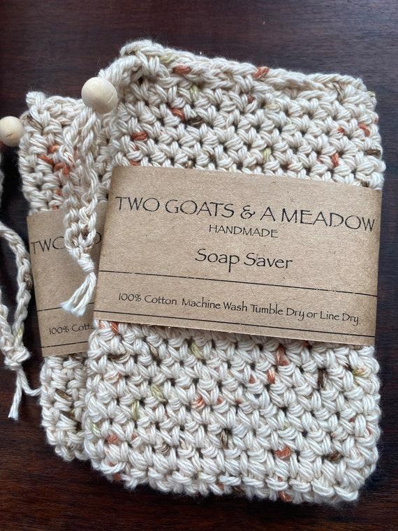 100% Cotton Soap Saver Eco Friendly Biodegradable All Natural 267