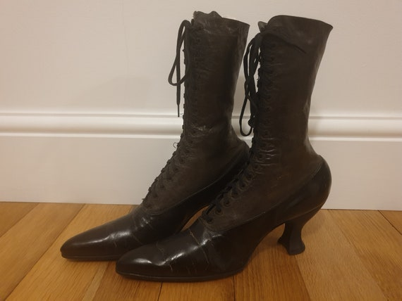 Antique Victorian Edwardian Boots