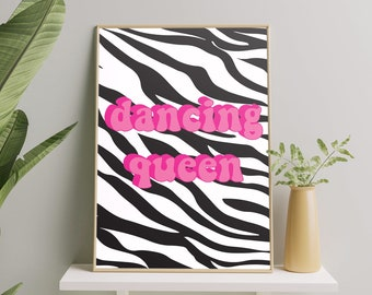 Dancing queen print
