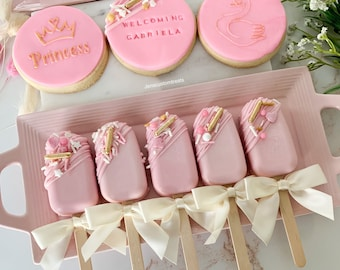 Pink Cakesicles