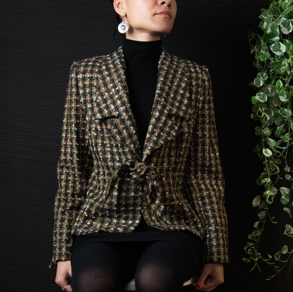 Tempo Paris Tweed Blazer