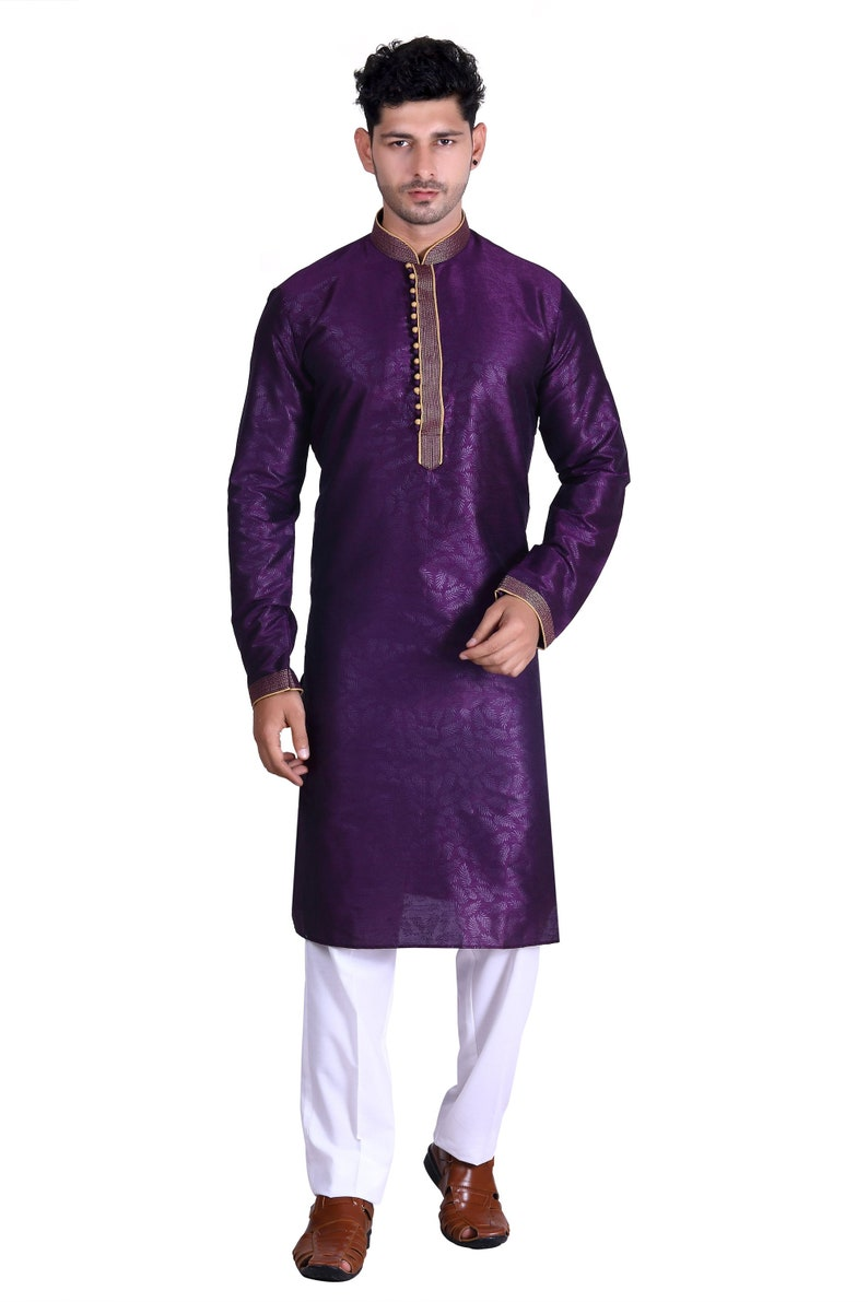 Ukani Fashion Ethnic Traditional Mens Kurta Stylish and Festive Occassion
