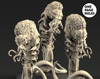 Alien Synapse Floaters (3 Models)