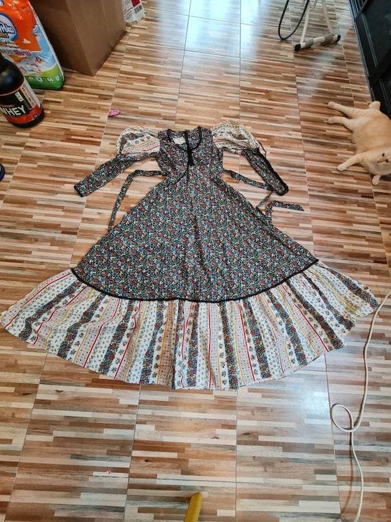 Rare vintage gunne sax dress - image 5