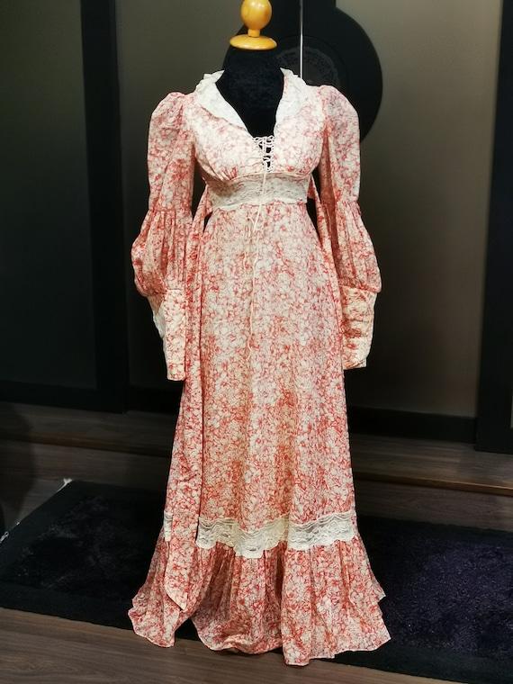 rare gunne sax dress
