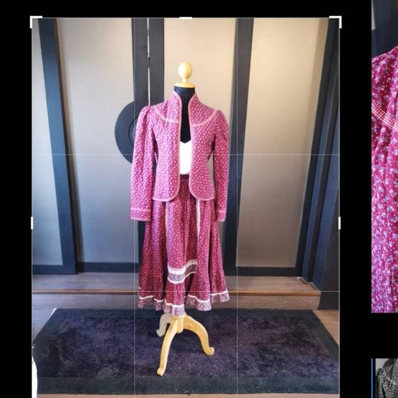 Vintage gunne sax set dress